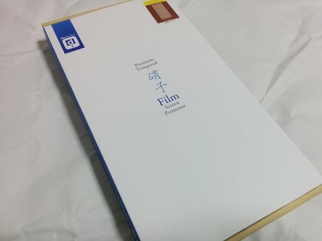 arrows M03用の液晶保護フィルム「on-device ガラスフィルム」 外箱