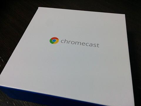 Chromecastの中箱